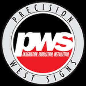 precision west signs logo