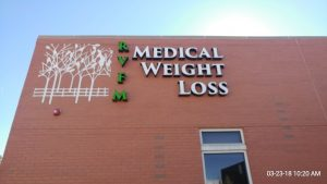 Custom Made Channel Letter Signs in Denver